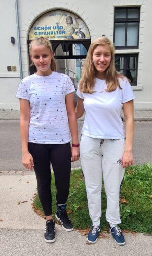 Yaroslava Sereda und Luisa Bashylina